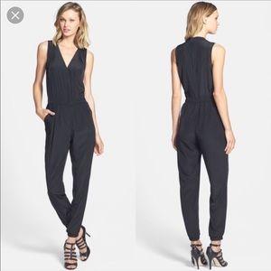 Halogen black jumpsuit - size L